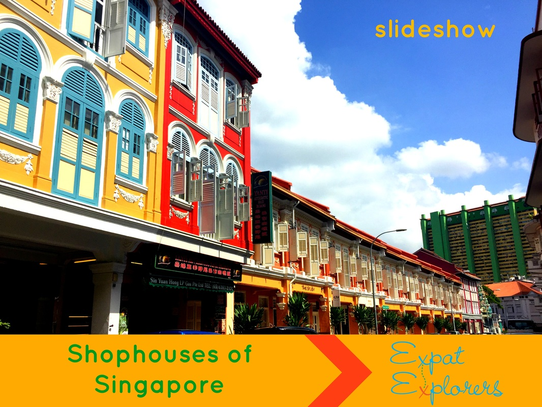 Shophouses in Singapore travel
