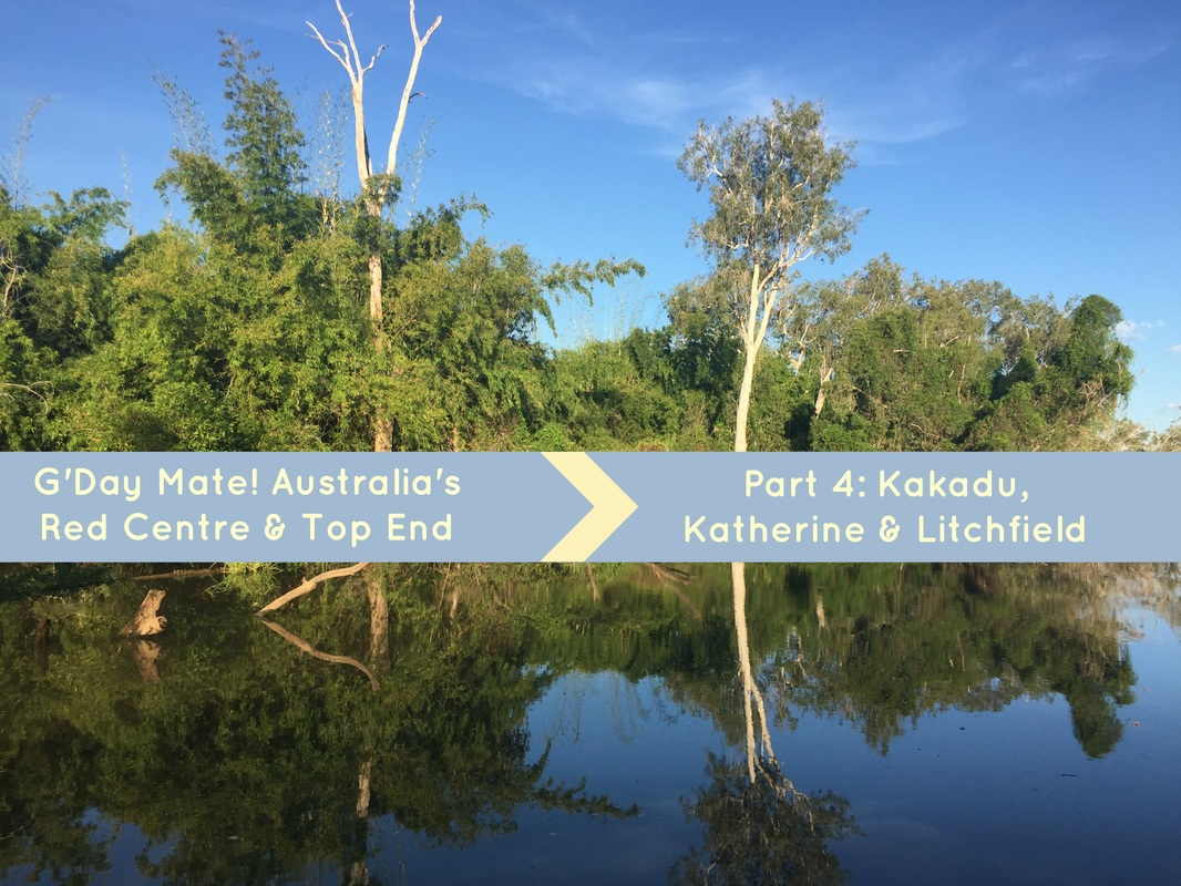 Australia's Red Centre & Top End travel notes