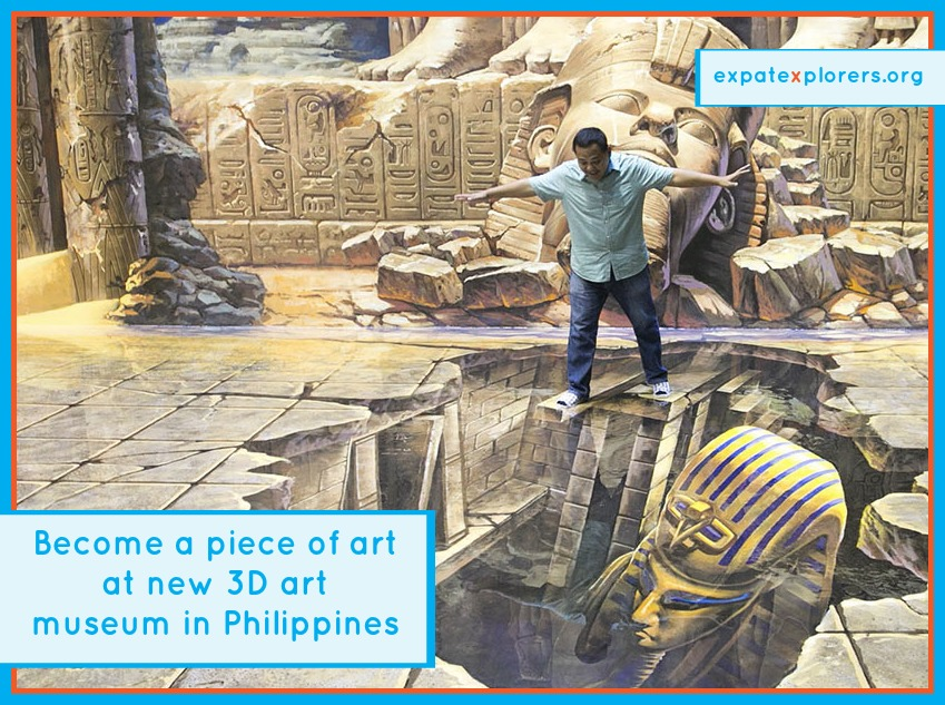 New 3D art museum in the Philippines lets you become the art