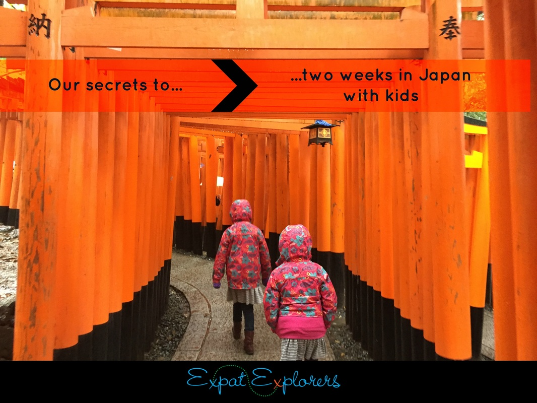 Travel secrets: two weeks in Japan with kids
